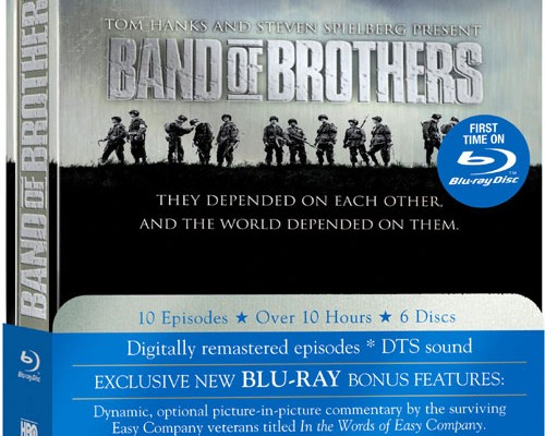 Band of Brothers Blu-ray Cover Art, Exclusive Extras Surface