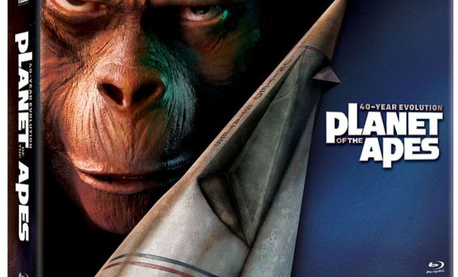 Planet of the Apes: 40-Year Evolution Blu-ray Set Details