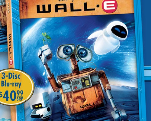 Wall-E on Blu-ray Nov 18; Details and Cover Art