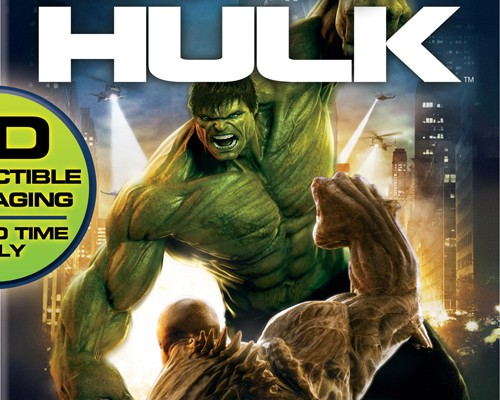 Universal Specs The Incredible Hulk Blu-ray; Pre-orders Launch