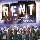 Rent: Filmed Live on Broadway Blu-ray Details, Cover Art