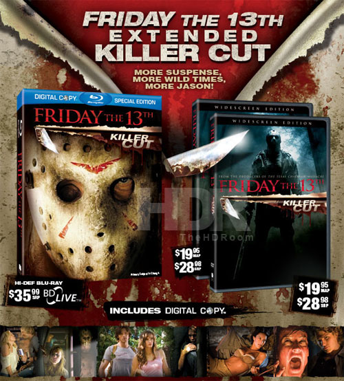 Warriors Vs Knights Live Stream Free: Friday The 13th: Killer Cut On Blu-ray This June