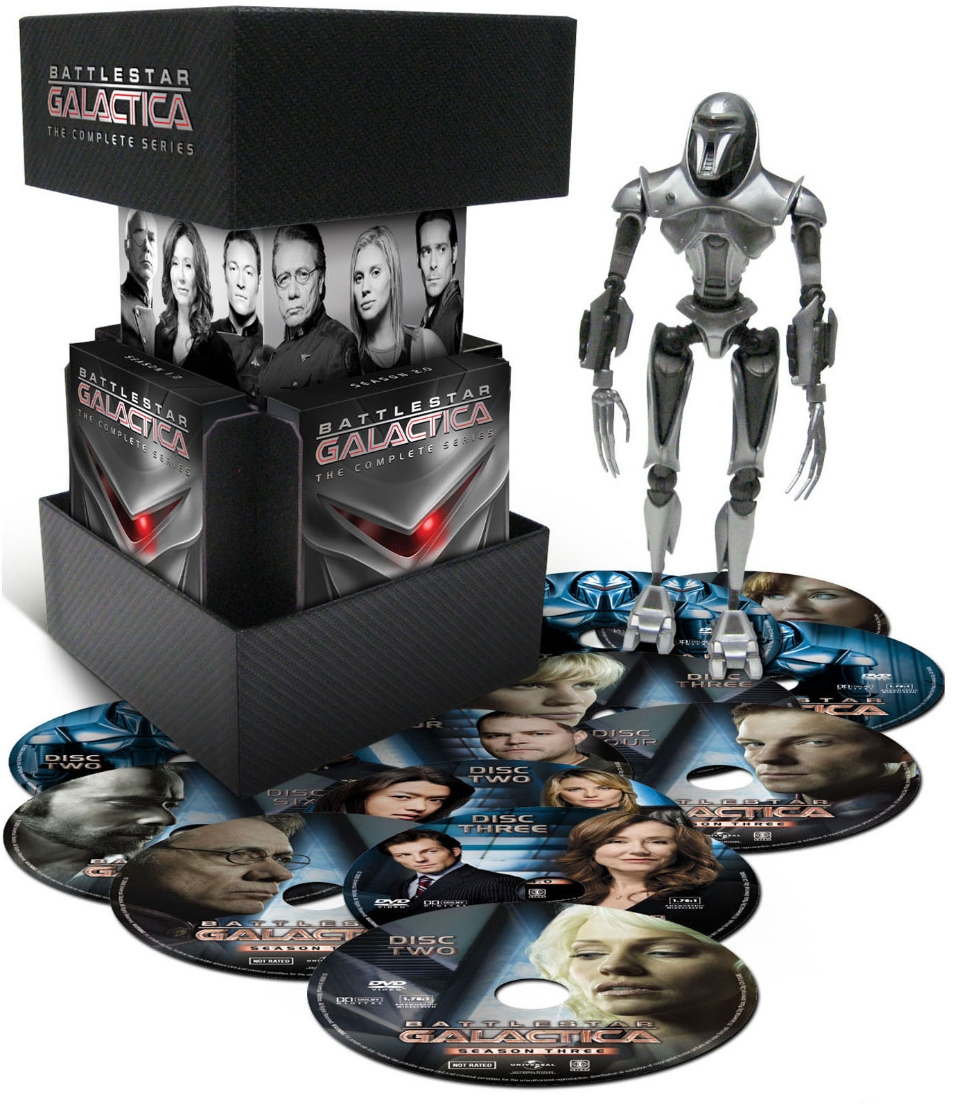 Warriors Vs Knights Live Stream Free: High-Res Look At Battlestar Galactica: The Complete Series