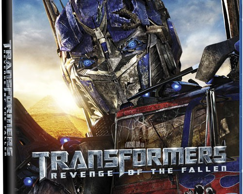 Transformers: Revenge of the Fallen Blu-ray Details and Cover Art