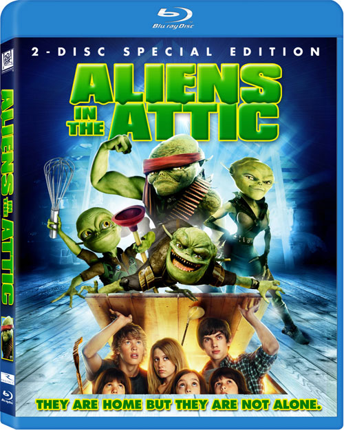 Aliens In The Attic Blu Ray Details And Cover Art Thehdroom