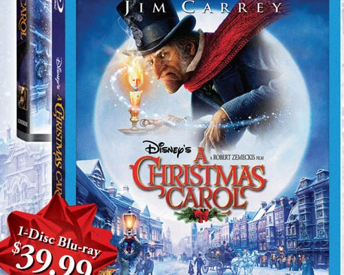 First Look: A Christmas Carol Blu-ray 3D Cover and Details