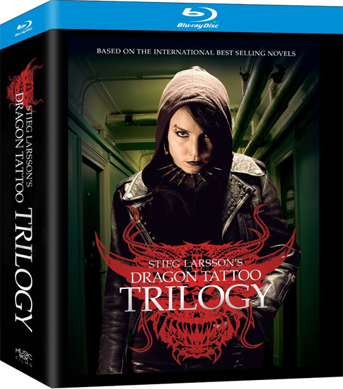 Dragon tattoo trilogy blu ray release date moved to for The girl with the dragon tattoo series order