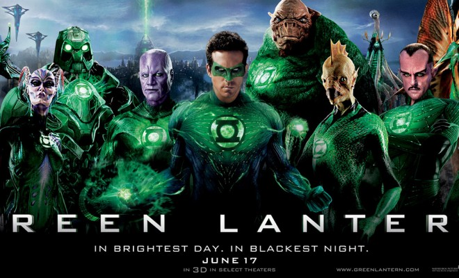 New Green Lantern Banner and Poster