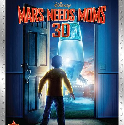 Mars Needs Moms Blu-ray 3D Release Date and Pre-Orders