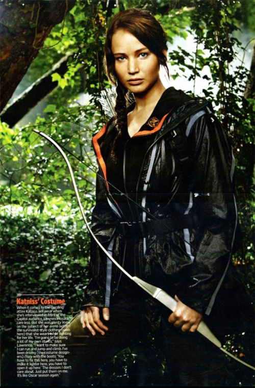 More Jennifer Lawrence in The Hunger Games Images and ...