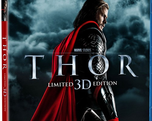 Updated: Thor Blu-ray Release Date; Will Include The Avengers Sneak Peek