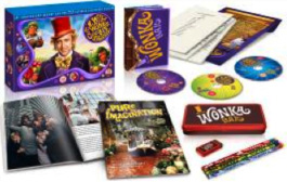 Willy Wonka & The Chocolate Factory 40th Anniversary Ultimate Collector's Edition Blu-ray in October