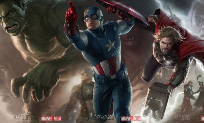 Hulk Concept Art Completes The Avengers Assemble Poster