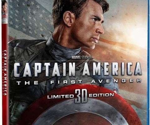 Captain America: The First Avenger Blu-ray 3D Release Date and Details