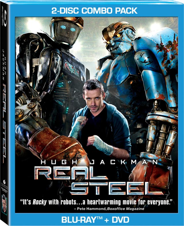 Real Steel Blu-ray Release Date, Details and Cover Art