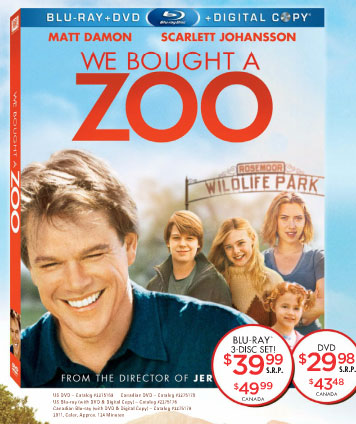 We Bought a Zoo Blu-ray Release Date and Details