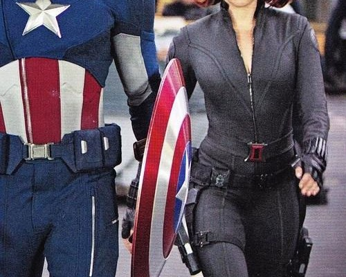 New The Avengers Image Features Cap and Flightless Pals
