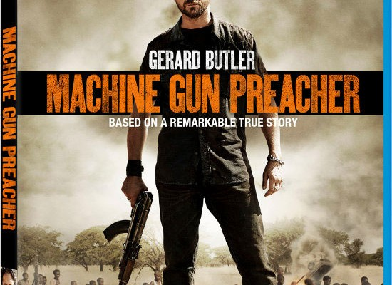 Machine Gun Preacher Blu-ray Release Date, Details and Cover Art