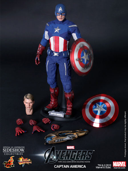 Hot Toys Captain America The Avengers Sixth Scale Figure Revealed; Thor Teased