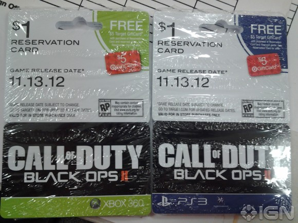 Call of Duty: Black Ops 2 Release Date and Logo Outed by Target