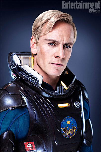New Prometheus Images Get Personal with the Cast