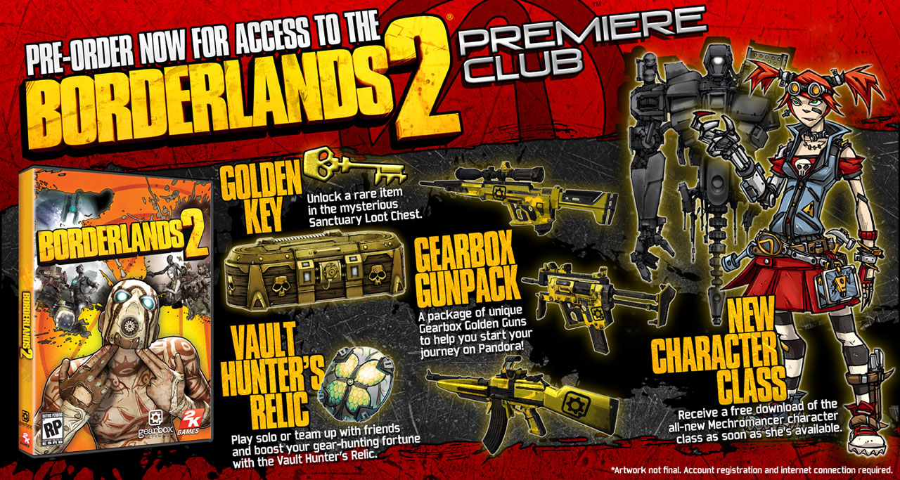 Borderlands 2 Gets Ultimate Loot Chest Limited Edition and Deluxe Vault Hunter's Collector's Edition Versions