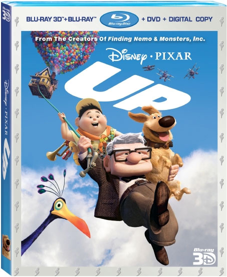 Pixar's UP Coming To Blu-ray 3D With December Release Date
