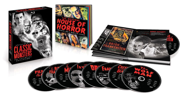 Universal Classic Monsters: The Essential Collection Blu-ray Release Date and Details