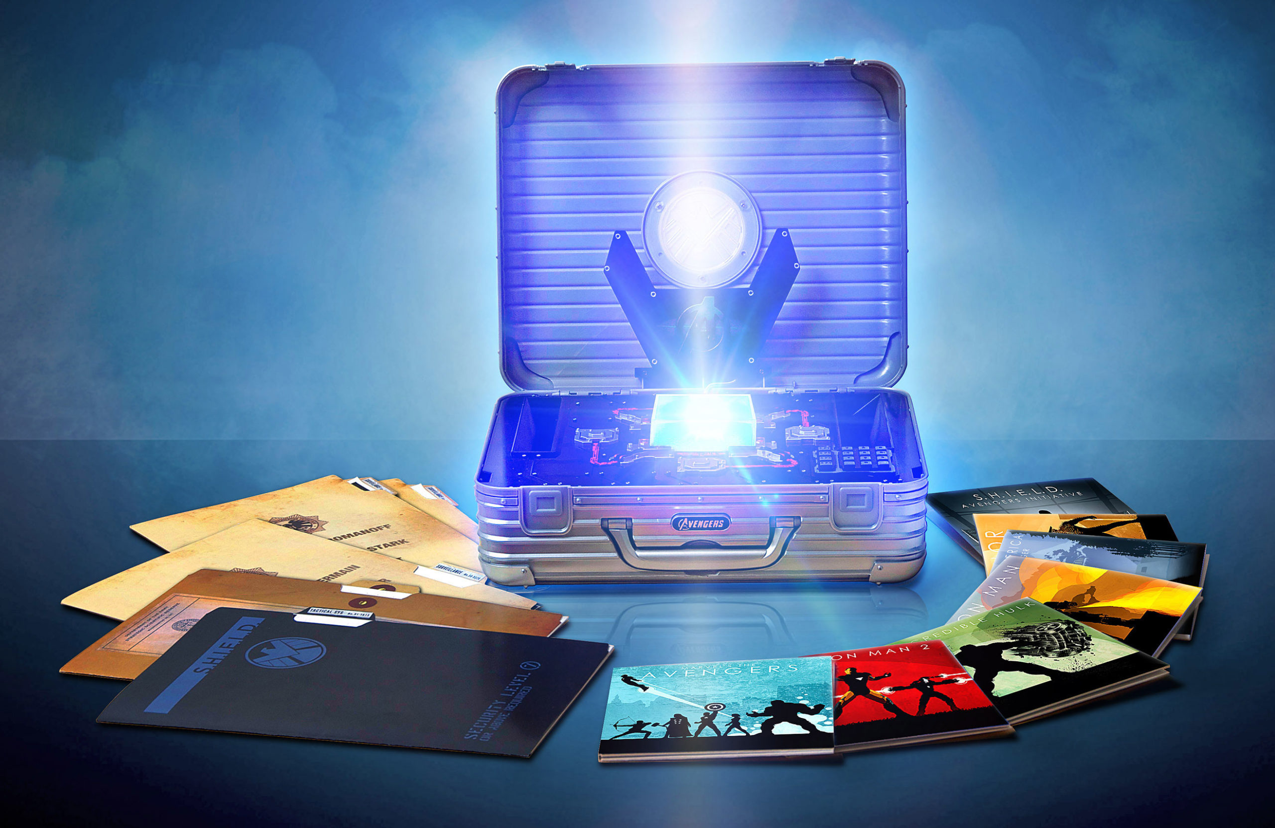 Marvel Cinematic Universe: Phase One Blu-ray Collection Revealed