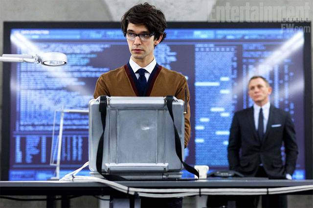 Skyfall Gets a Geeky Q: First Look at Ben Whishaw in Character