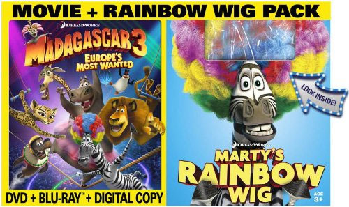Madagascar 3 Europe S Most Wanted Blu Ray 3d Pre Order