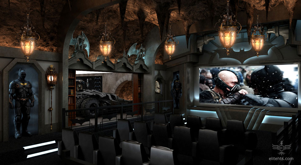 The Dark Knight Rises Inspired Home Theater Costs $2 Million