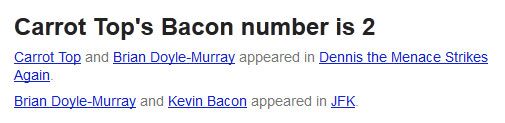 Six Degrees of Kevin Bacon Now a Google Search Engine Game