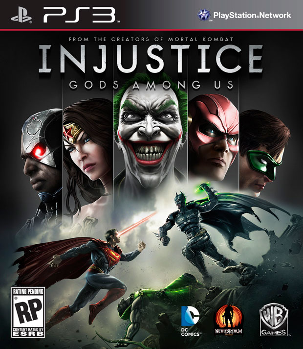 Injustice: Gods Among Us Box Art and New Screens