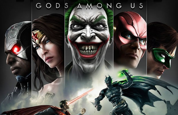 Injustice: Gods Among Us Box Art and Three New Screens
