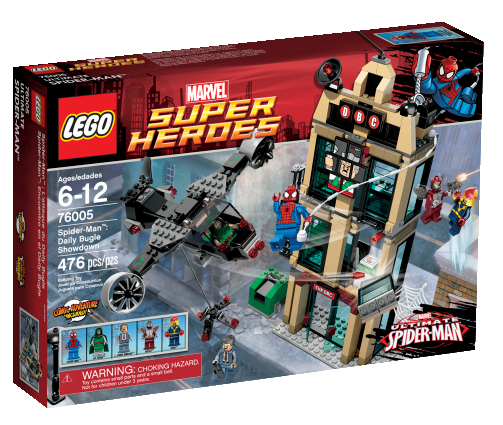 Lego Reveals The Dark Knight Rises and Ultimate Spider-Man Sets with ...