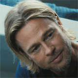 Brad Pitt Runs From Ravenous Zombies in World War Z Trailer Premiere