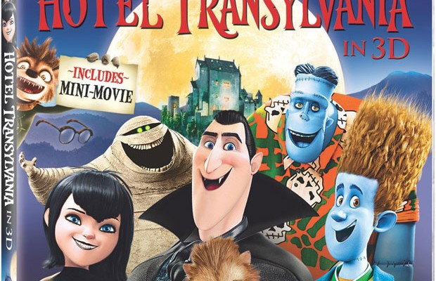 Hotel Transylvania Blu-ray 3D Release Date, Details and Cover Art
