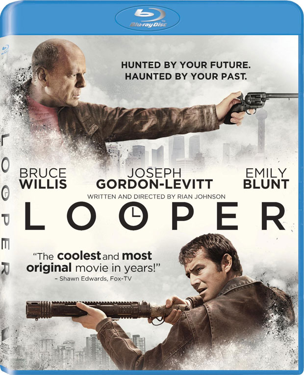 Looper Blu-ray Release Date, Details and Cover Art