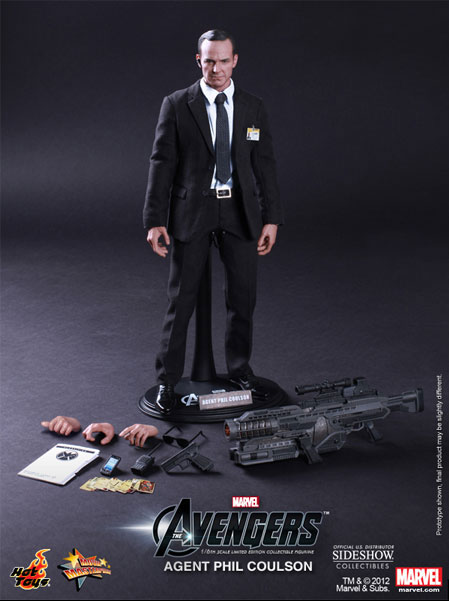 Hot Toys Agent Phil Coulson The Avengers Figure Pre-Order is Live