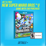 Old Navy Black Friday 2012 Ad Deals Offer Free Mario Wii U Game (Updated)