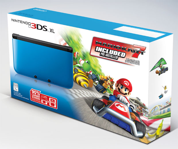 New 3DS XL Bundle Packaged with Mario Kart 7