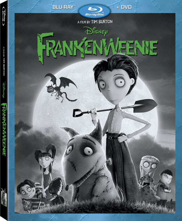 Frankenweenie Blu-ray 3D Release Date, Details and Cover Art
