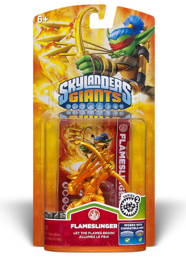 Skylanders Giants Gold Flameslinger Amazon Exclusive In Stock