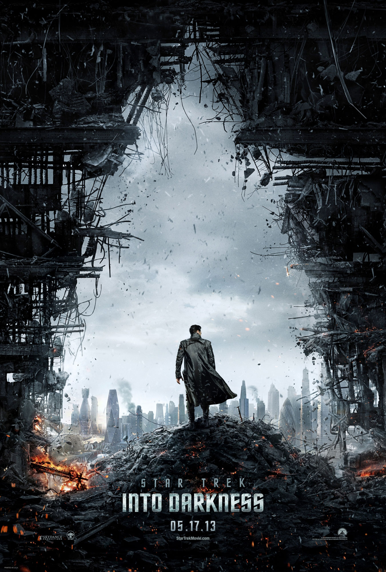 Star Trek Into Darkness Poster Promises Mass Destruction