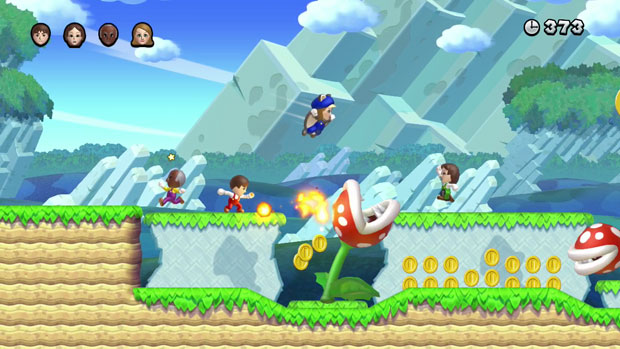 New Super Mario Bros U Review: Old and New, It Must be Mario!