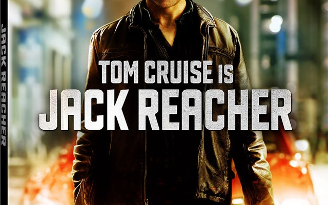 Jack Reacher Blu-ray Pre-Order and Cover Art