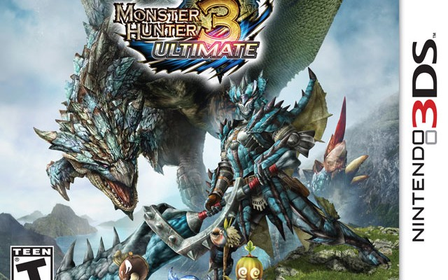 Monster Hunter 3 Ultimate Release and Demo Dated; Monsters Run in Fear