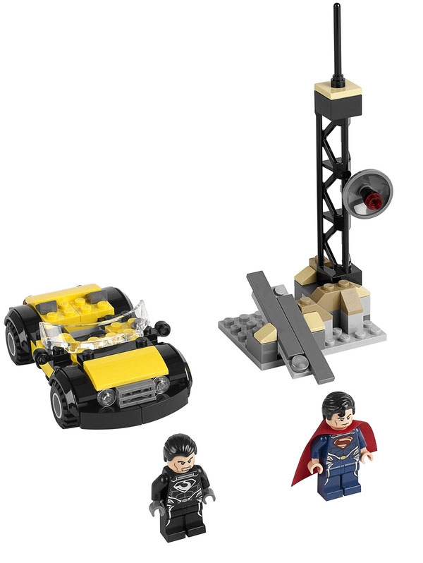 Lego Man of Steel Reveal Features Superman versus General Zod