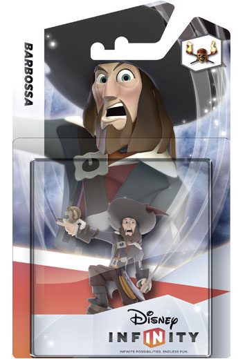 Disney Infinity Wave 1 Singles and Three Pack Packaging Images